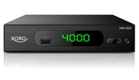 Xoro HRS 2620, SD DVB-S2 Receiver, schwarz uztvērējs