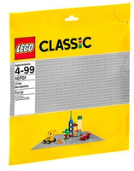 LEGO Gray Baseplate 10701 LEGO konstruktors