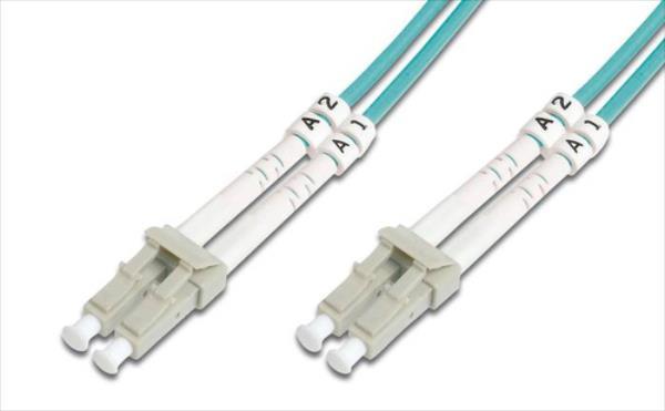 DIGITUS Fiber Optic Patch Cord, LC / LC OM3 2m tīkla kabelis