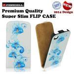 Forcell Slim Flip Pattern Samsung i9100 Galaxy S2 i9105 vertikāli atverams maks ar zīmējumu Design 1 maciņš, apvalks