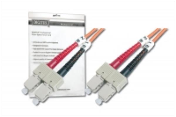 Fiber optic patch cord S C to SC MM 50/125 dpx 2 tīkla kabelis