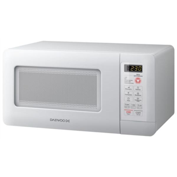 DAEWOO Touch controls, White, 15 L Mikroviļņu krāsns