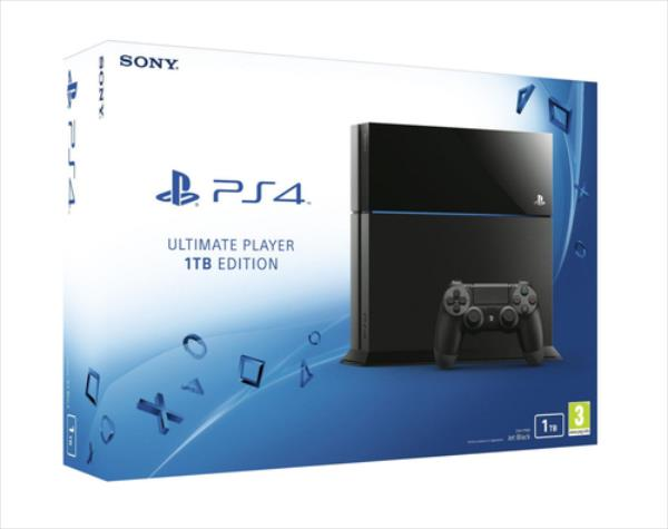 Sony Playstation 4 1TB Ultimate Player Edition spēļu konsole