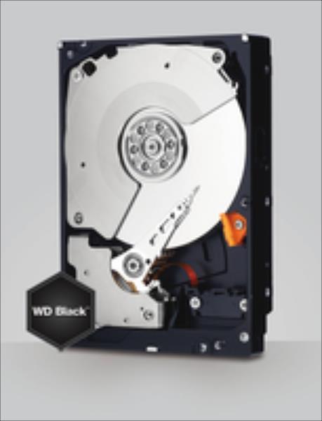 WD Black 3.5'' 4TB SATA3 7200RPM 128MB cietais disks