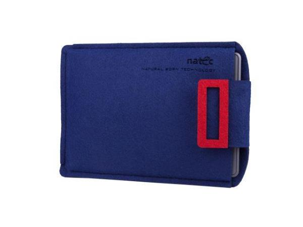 Natec KINDLEY case NATEC SHEEP 6'' Navy blue-Red Planšetes aksesuāri