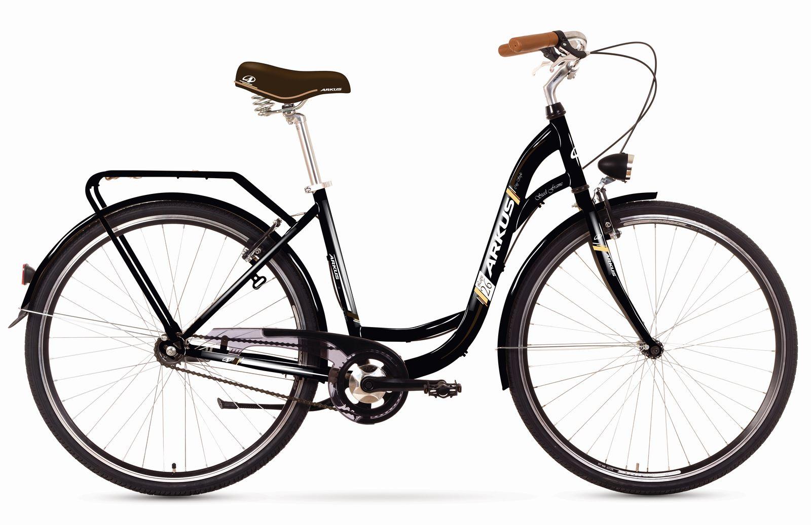 ARKUS ANGEL 28 - 3 CITY 17-M R28 MELNS Pilsētas velosipēds