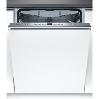 Bosch SMV58P60EU Fully built-in, 59.8 cm, Energy efficiency class A+++, White Veļas mašīna