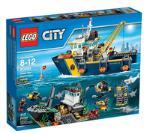 Lego Deep Sea Exploration Ves 60095 LEGO konstruktors