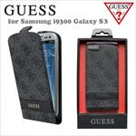 GUESS GUFLS34GG Exclusive Grey Four G Style Flip Case maciņš, apvalks mobilajam telefonam