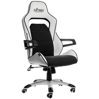 Nitro Concepts E220 Evo fotel gamingowy - White-black datorkrēsls, spēļukrēsls