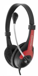 ESPERANZA Stereo Headset with microphone and volume control EH158R austiņas