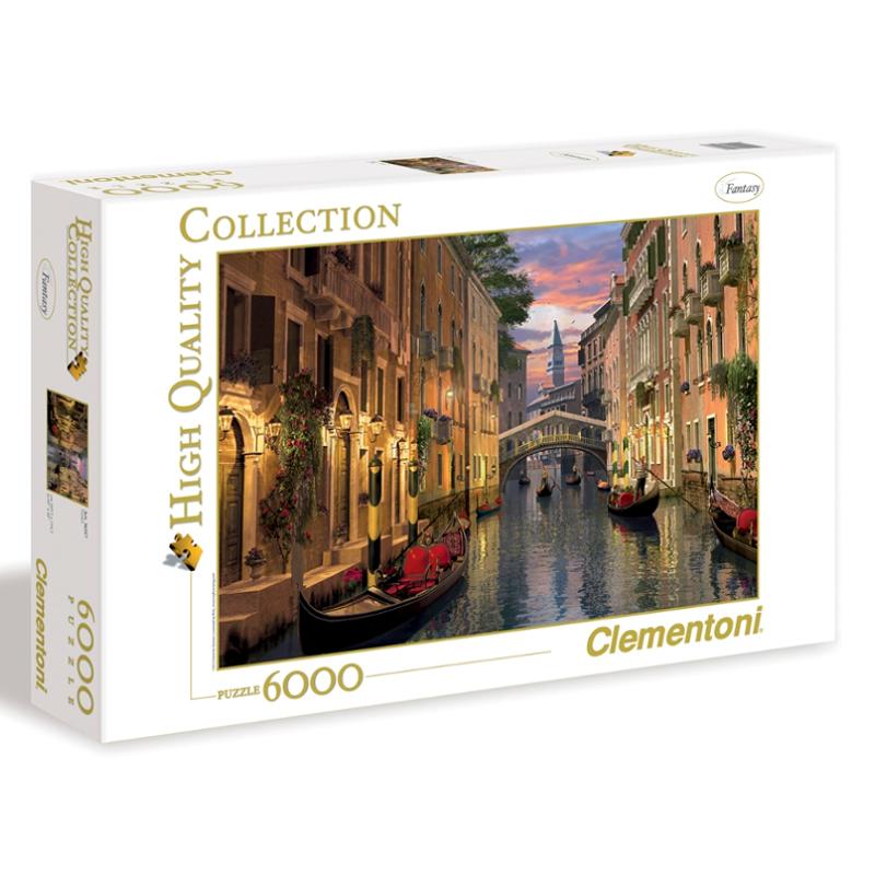 Clementoni 6000 EL. Wenecja 36517 puzle, puzzle