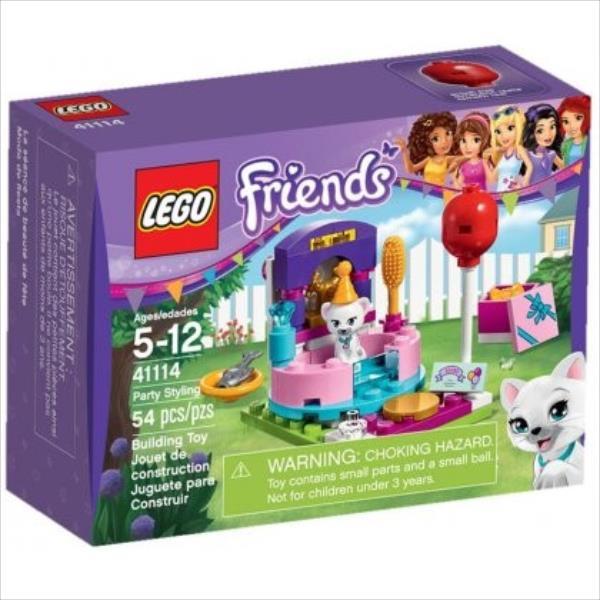 Lego Friend Party Styling 41114 LEGO konstruktors