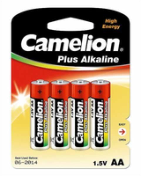 Camelion AA/LR6, Plus Alkaline, 4 pc(s) Baterija