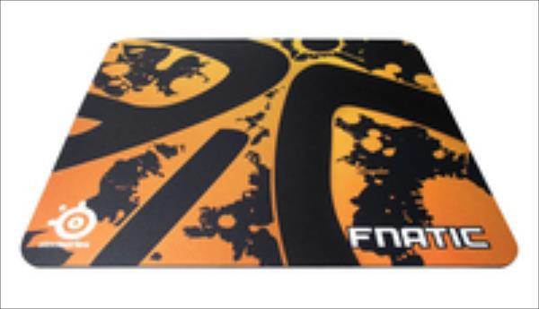 SteelSeries QcK+Fnatic Edition Gaming peļu paliknis