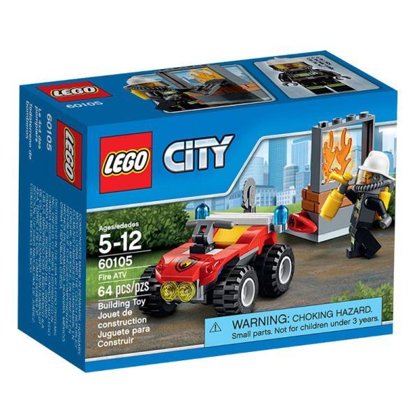LEGO Fire ATV 60105 LEGO konstruktors
