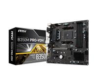 MSI B350M Pro-VDH, AMD B350 Mainboard - Sockel AM4 pamatplate, mātesplate