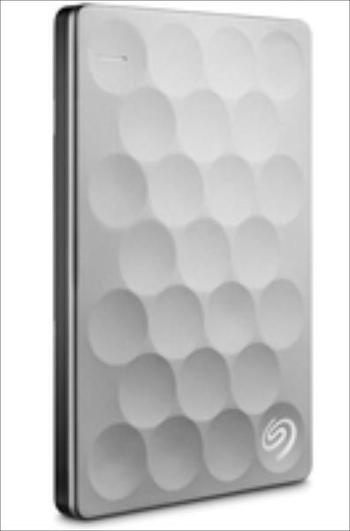 Seagate STEH2000200 BACKUP PLUS ULTRA SLIM 2TB 2.5IN USB3.0 PORT. HDD PLATINU cietais disks