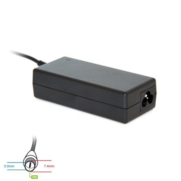 Digitalbox AC power adapter 19.5V/3.34A 65W connector 7.4x5.0mm + pin Dell portatīvo datoru lādētājs