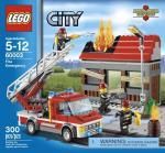 LEGO Fire Emergency V29 60003 LEGO konstruktors