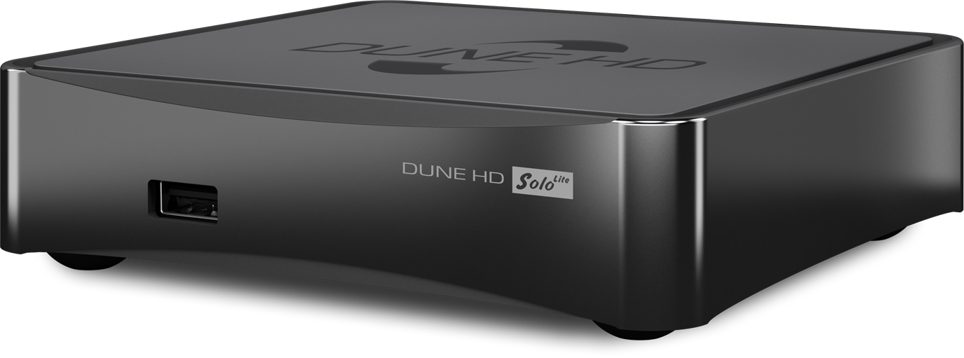 Monster media Dune HD Solo Lite, 3D, ULTRA HD 4K and H.265 (HEVC), IPTV and OTT, suport of: flaс (cue), ape, alac, sacd; Wi-Fi 802.11bgn (2. dvd multimēdiju atskaņotājs
