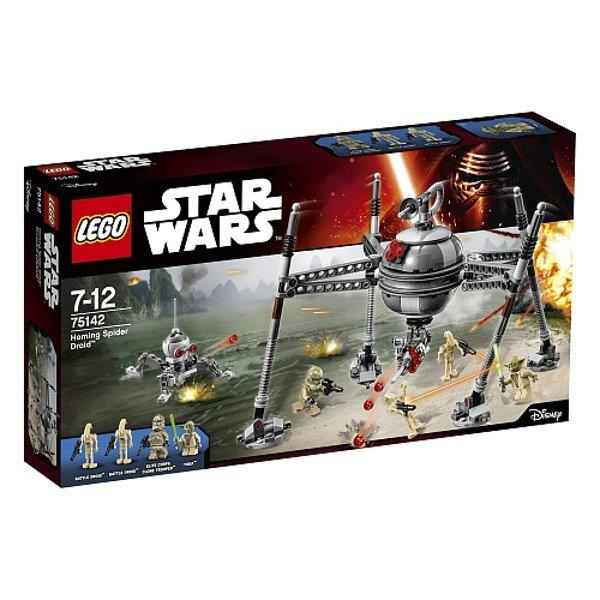 Lego Homing Spider Droid 75142 LEGO konstruktors