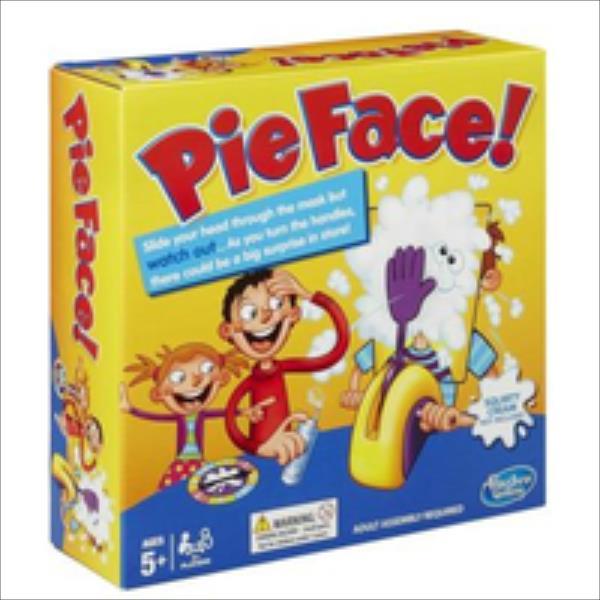 Hasbro Gra Pie Face galda spēle