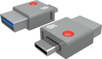 Emtec memory 16GB USB 3.0 & Type-C connector T400 (110MB/s, 20MB/s) USB Flash atmiņa