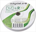 Digidata DVD-R 4.7GB 16X 10pack shrink matricas