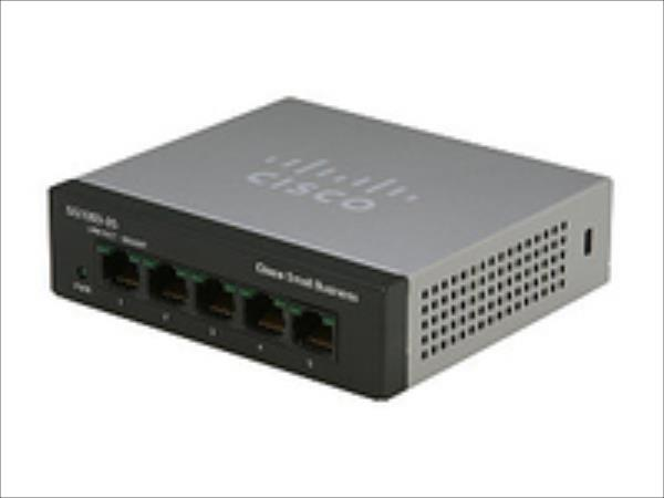 Cisco SF110D-05 5-Port 10/100 Desktop Switch komutators