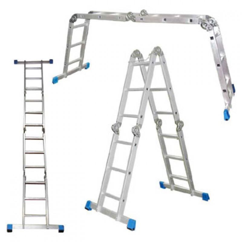 Besk Kāpnes alumīnija 4x3 pakāpieni