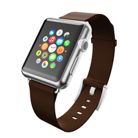 Premium Leather Watch Band for Apple Watch 38mm, Espresso  Other bags & cases Elektroinstruments