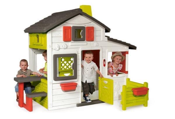 SMOBY Friends House Rotaļu mājas un slidkalniņi