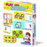 CLEMENTONI Numbers (EST+LET+LIT+RUS+BG+GB) 60392 galda spēle