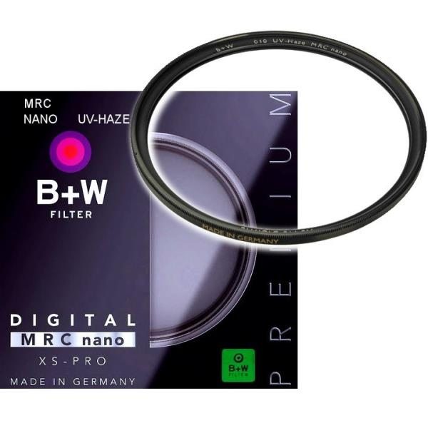 B+W XS-Pro Digital 010 UV-Haze-Filter MRC nano 62 UV Filtrs