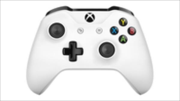 Microsoft Xbox ONE S Wireless Controller - White spēļu aksesuārs
