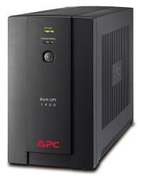 APC Back-UPS 1400VA, 230V, AVR, USB, IEC nepārtrauktas barošanas avots UPS