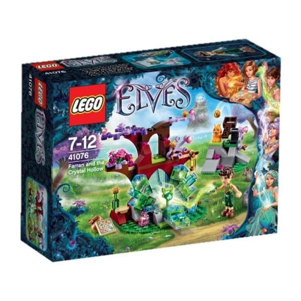 LEGO Elves Farran and the Crystal Hollow 41076 LEGO konstruktors