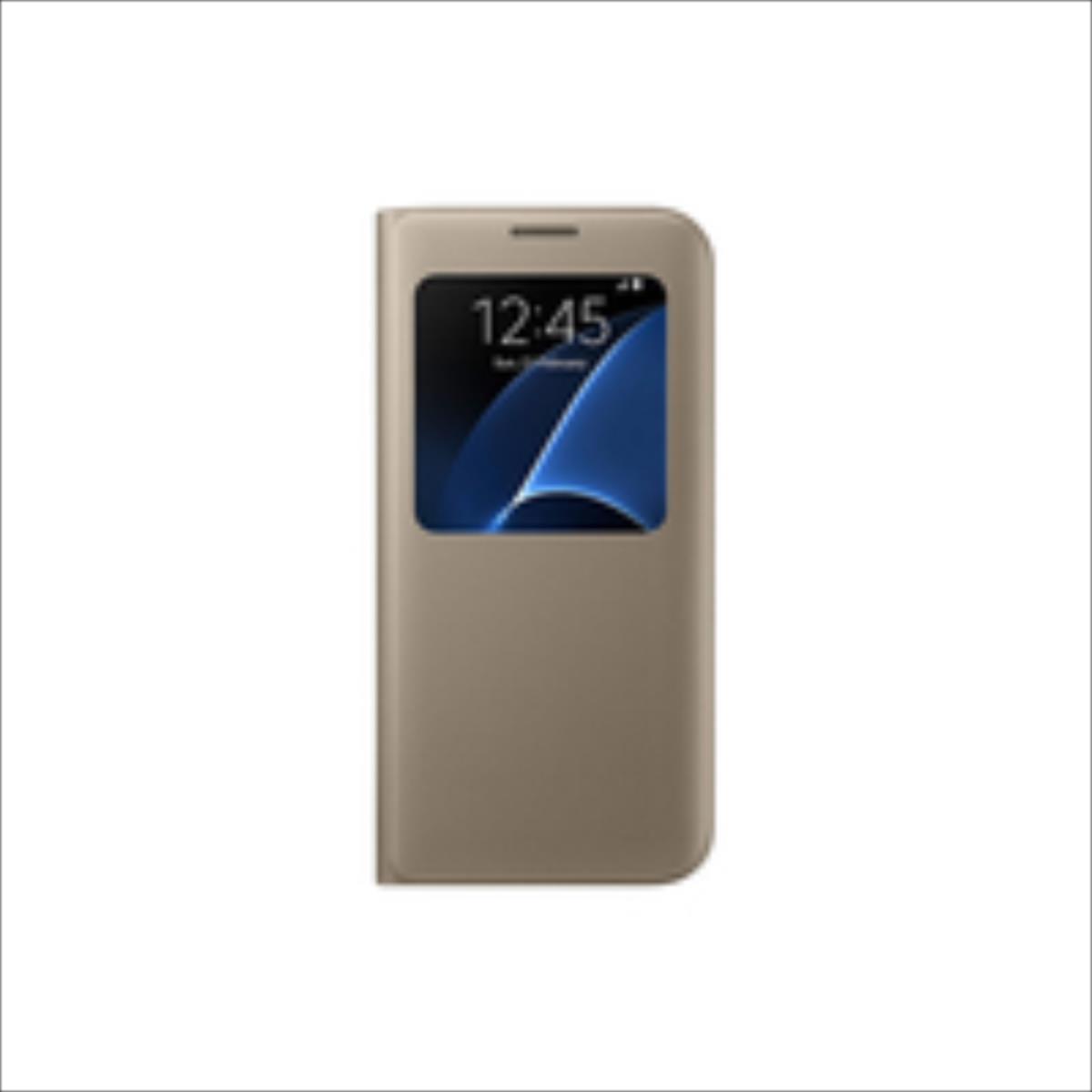 Samsung Galaxy S7 Edge S View Cover (EF-CG935PFEGWW) maciņš, apvalks mobilajam telefonam