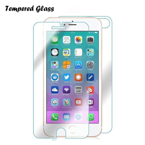 Tempered Glass Extreeme Shock Aizsargplēve-stikls Apple iPhone 7 4.7inch Priekša+ Aizmugure 2gab. (EU Blister) aksesuārs mobilajiem telefoniem