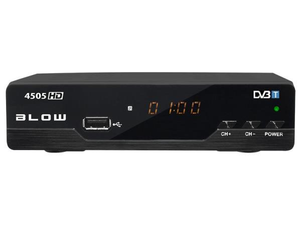 BLOW Tuner DVB-T 4505HD uztvērējs