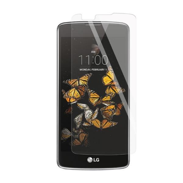 ExLine LG K8 K350N ekrāna aizsargplēve Glancēta aizsargplēve ekrānam mobilajiem telefoniem