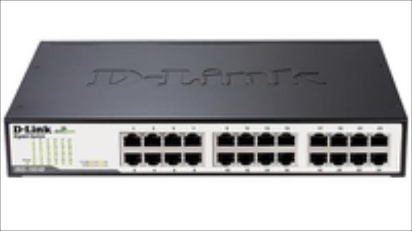 D-Link 24-Port 10/100/1000Mbps GigabitEthernet Switch komutators