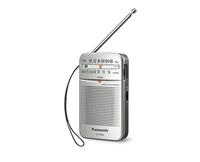Panasonic RF-P50DEG-S silver radio, radiopulksteņi