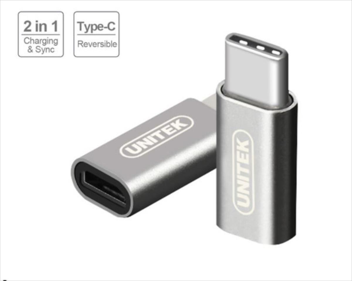 Unitek Adapter USB type-C - Micro USB, Y-A027AGY