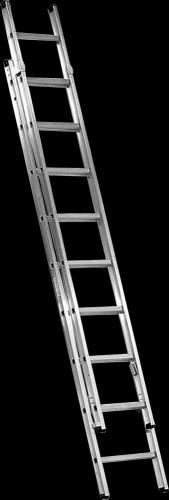 Besk Kāpnes alumīnija 2x11 pakāpieni