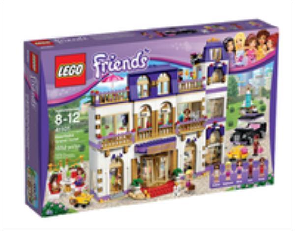 Lego Grand Hotel w Heartlake (41101) LEGO konstruktors