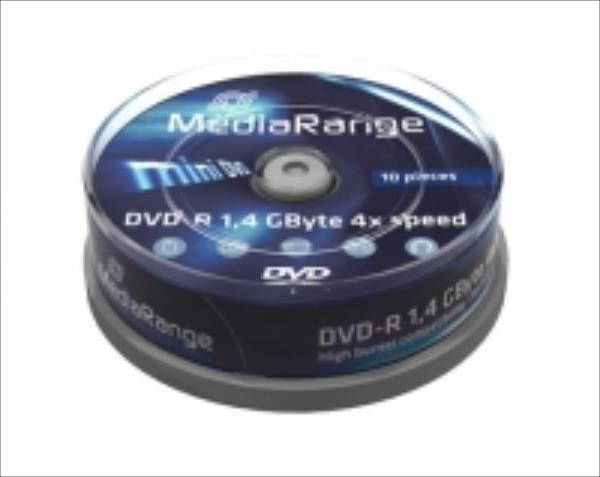 DVD-R MediaRange mini 10pcs Spindel matricas
