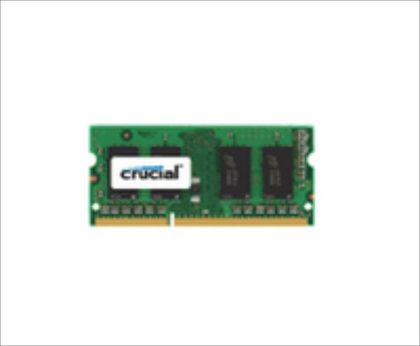 Crucial DDR3 SODIMM 8GB/1866 CL13 Low Voltage (CT102464BF186D)