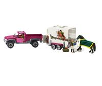 Schleich Horse Club Pick-up with horse box bērnu rotaļlieta
